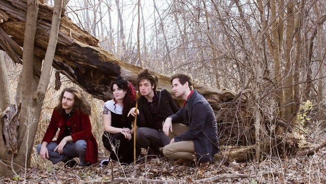 Jack & the Bear, from left: Adam Schreiber, Christina Schreiber-Nielsen, Brandon James Schreiber, Evan Close.