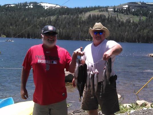 Fishing report for june 29 for Caples lake fishing report