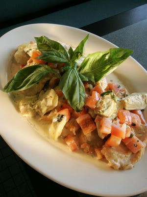 Chicken Cillano at the Atwood Grill