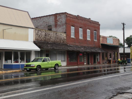 Main Street in Sparta, photographed on May 27, 2014.