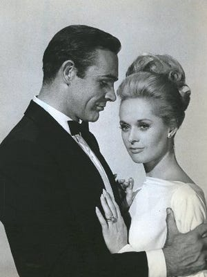 """Sean Connery and Tippi Hedren in 1964's """"Marnie."""""""