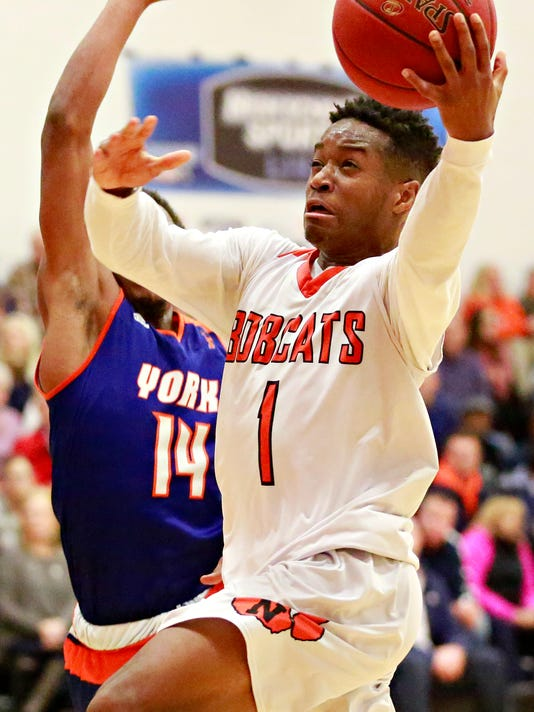 York High vs Northeastern boys' basketball