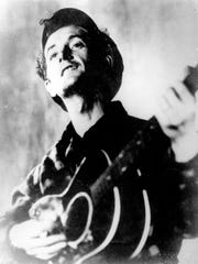 A protest song by Woody Guthrie will be on the bill