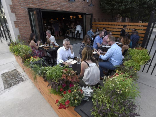 Since it opened July 28, the restaurant is packed most