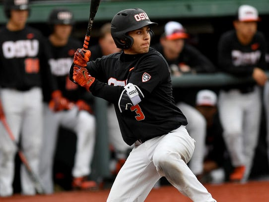 Oregon State second baseman Nick Madrigal is expected