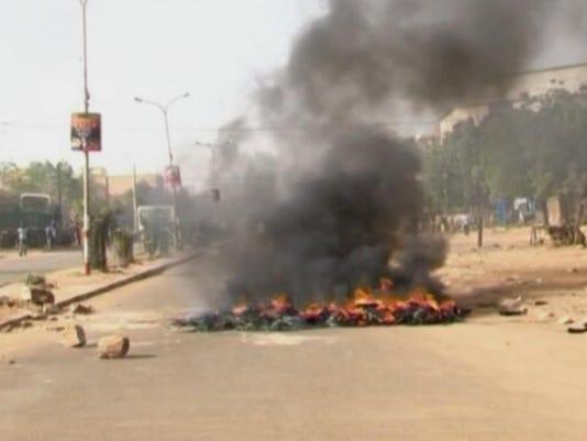 AP NIGER FRANCE PROTESTS I NER