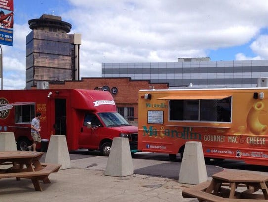 Food trucks downtown