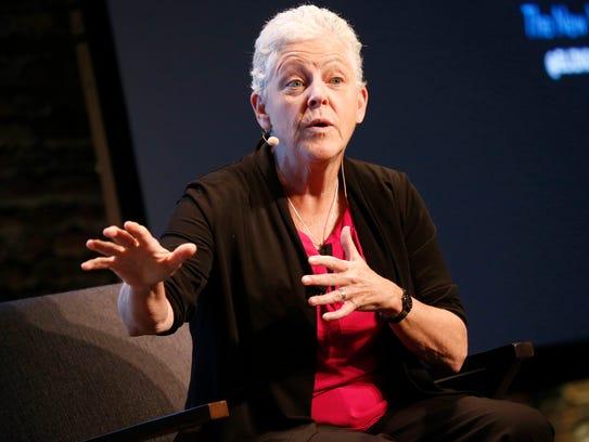 Former EPA Administrator Gina McCarthy.