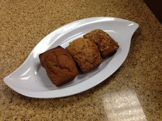 Mini Hawaiian, pumpkin and banana breads are popular sellers at Ever'man Cooperative Grocery & Cafe.