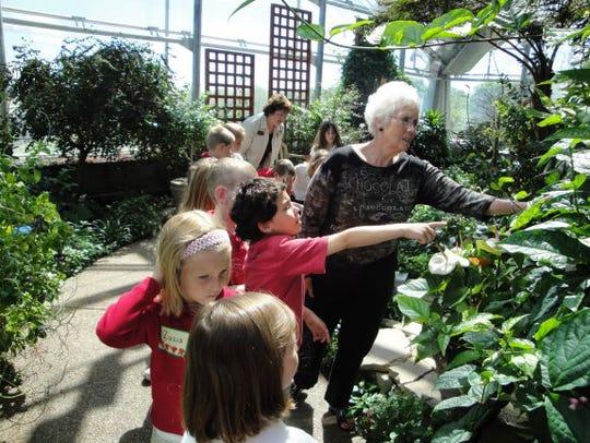 Reiman Gardens features indoor and outdoor gardens,