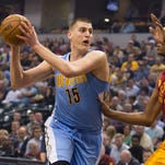 Jokic's monster game leads Nuggets past Pacers
