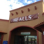 The Bealls name still covered the new Stage sign Wednesday at the Bealls store at 1840 N. Lee Trevino in East El Paso.