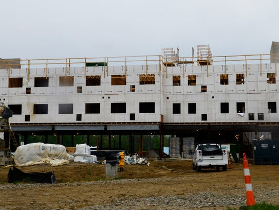 Seventy-one students have applied and 18 have signed leases to live in the new 225-unit residence hall opening on Terra State's campus this fall.