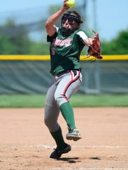 Oak Harbor's Ashley Riley struck out 842 batters in 583 innings in her career.