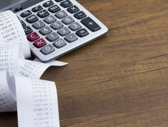 Calculations Stock Image