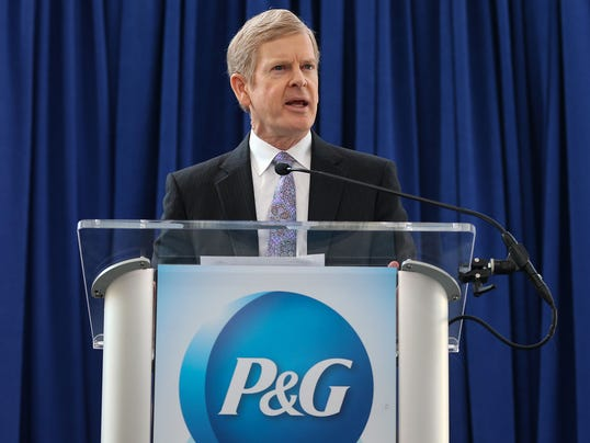 the resignation of durk jager from procter gamble co
