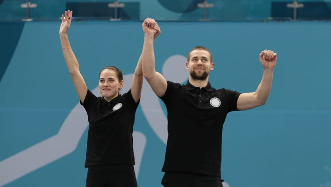 CAS has opened an investigation into a positive doping test for  Aleksandr Krushelnitckii of Olympic Athletes From Russia. He won bronze in mixed doubles curling with his wife, Anastasia Bryzgalova.