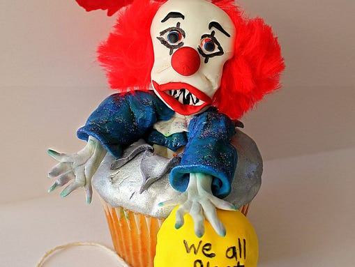 Horror wins Republic s Halloween cupcake contest