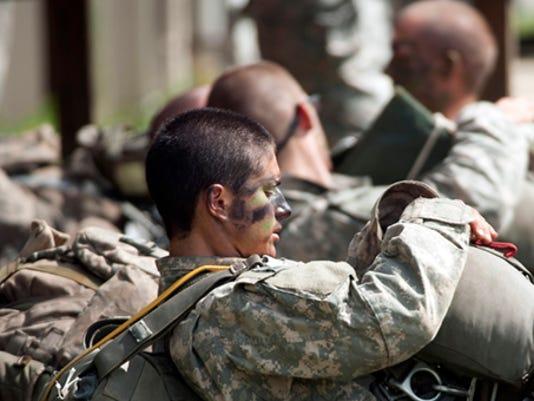 Army Rangers-Camp Rudder