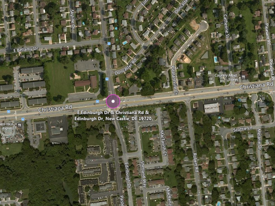 A woman was hit and killed by a car at this intersection Saturday.
