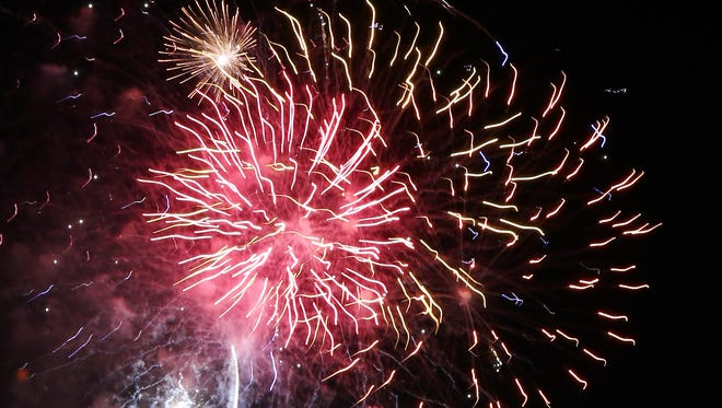 Fans enjoyed fireworks after Sunday's Jackson Generals game at The Ballpark at Jackson.