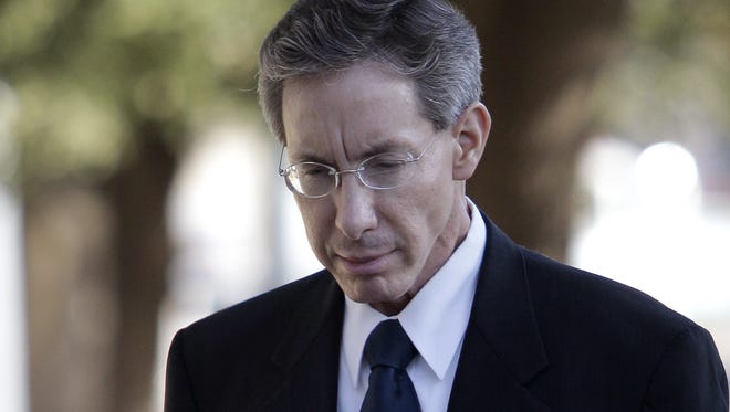 In this July 28, 2011 photo,  Warren Jeffs arrives at the Tom Green County Courthouse in San Angelo, Texas.