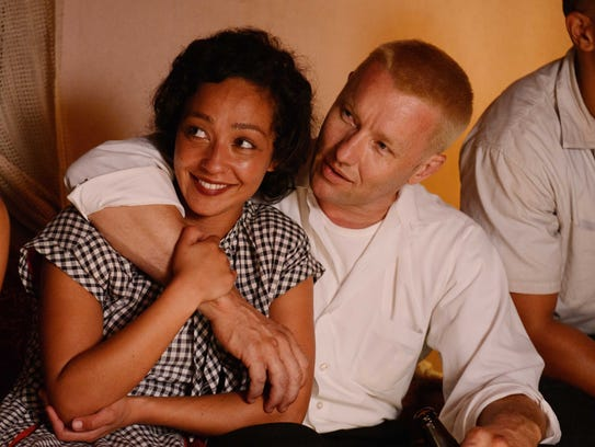 Mildred and Richard Loving (Ruth Negga, Joel Edgerton),