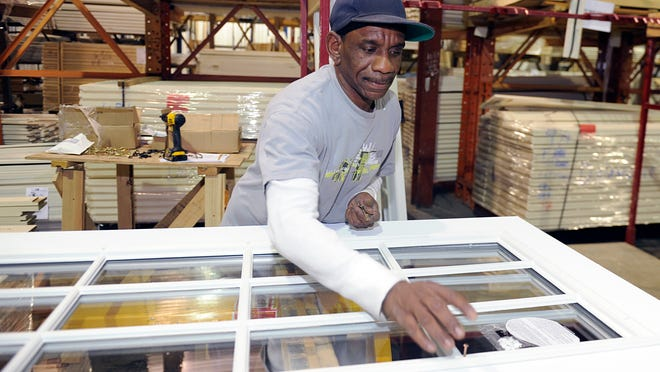 Former inmate Bobby Henderson, 49, works at a Nashville manufacturer through PRO Employment, a social enterprise created by Project Return that connects former inmates to jobs through its own temp-like agency. Henderson began with PRO Employment in June and was hired by the manufacturer for a full-time, long-term position in September.