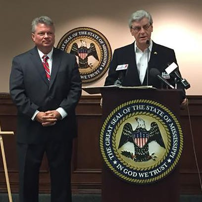 Gov. Phil Bryant announced that Mississippi is receiving