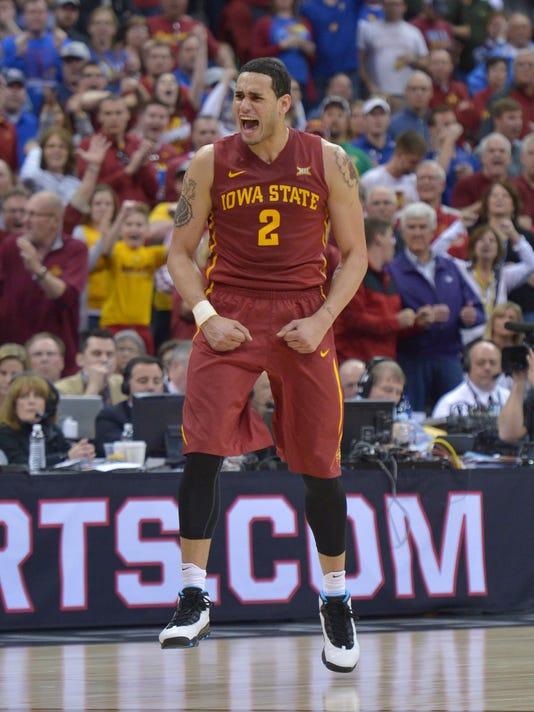 NCAA Basketball: Big 12 Championship-Kansas vs Iowa State