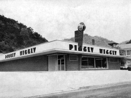 This Piggly Wiggly in Grundy, Va., opened on Nov. 17, 1955, and was Jack Smith's first store.