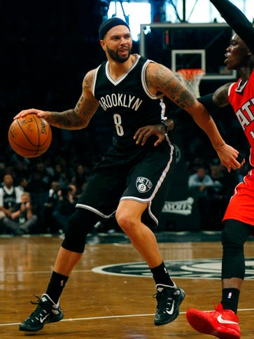 Deron Williams has shot 7-of-26 in the first round