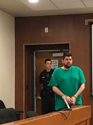 Vito Nigro in court Monday.