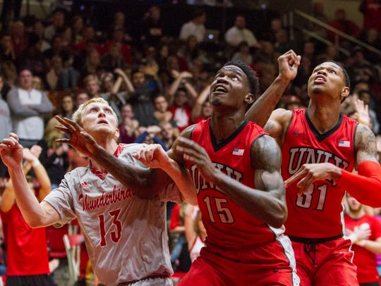 College basketball: University of Nevada Las Vegas