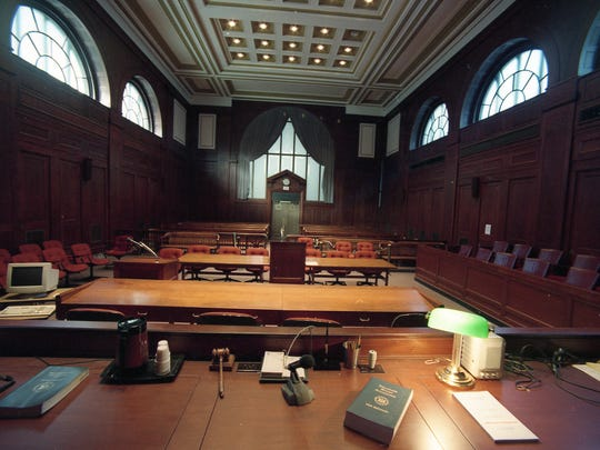 Superior courtroom 301 where the Capano trial took place in 1998.