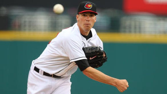 Rochester Red Wings pitcher Alex Meyer