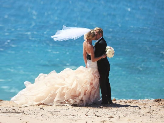 David and Amy Denyer were married on May 6, 2017 at Sleeping Bear Dunes National Lakeshore in Empire, Michigan.