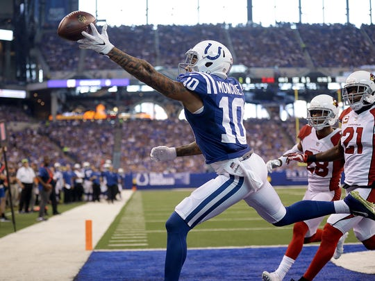 Moncrief's outing in Week 2 was forgettable: Just two