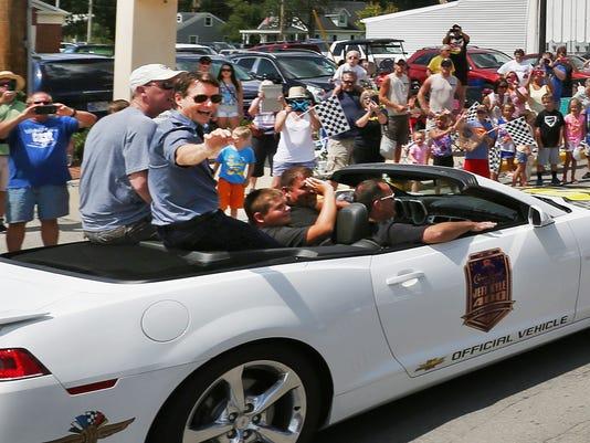 Jeff Gordon parade