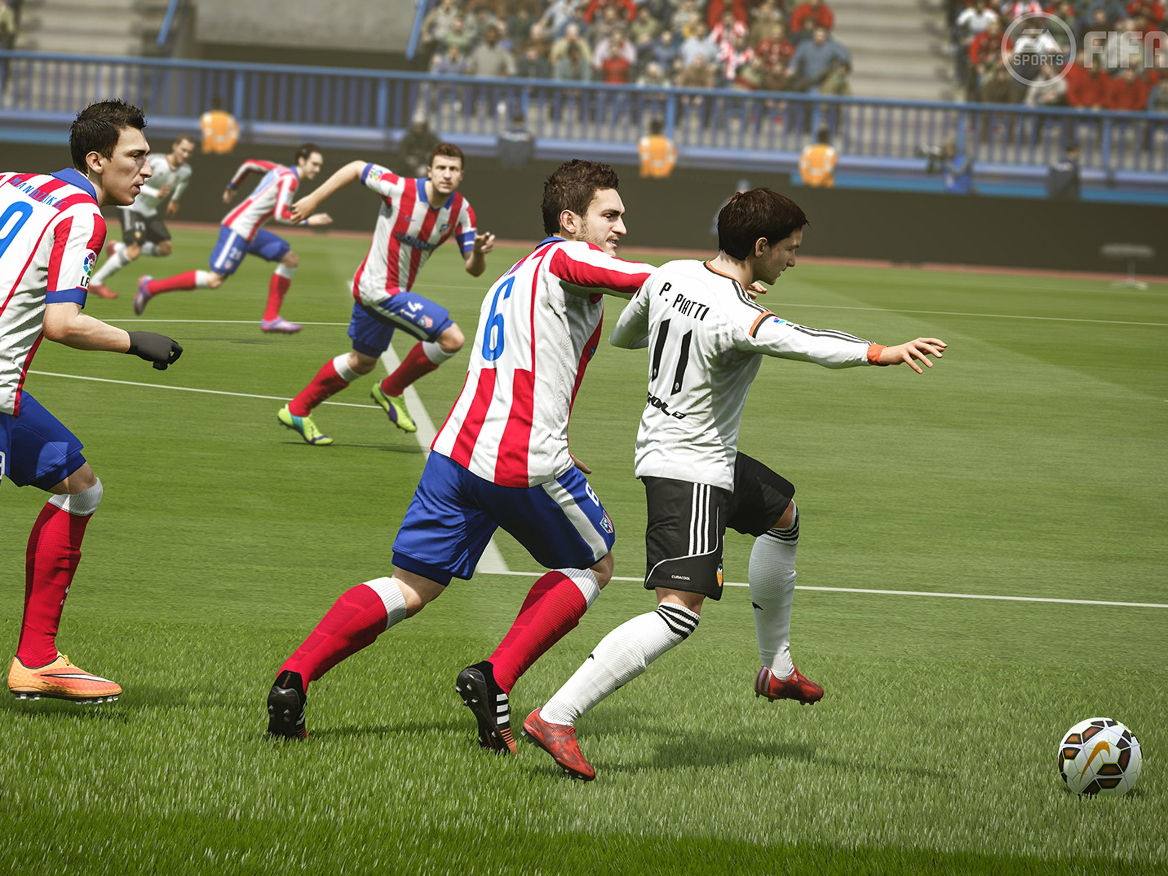 FIFA 16 features improved defense on the pitch compared to last year's version.