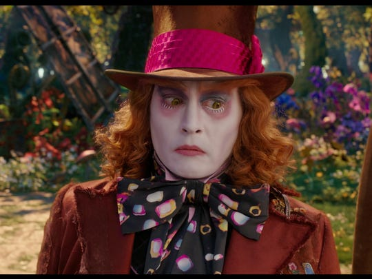 Sequel 'Alice Through the Looking Glass,' starring