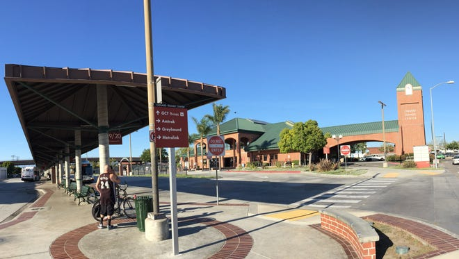 The Oxnard Transit Center is one such public building where public art can be displayed.
