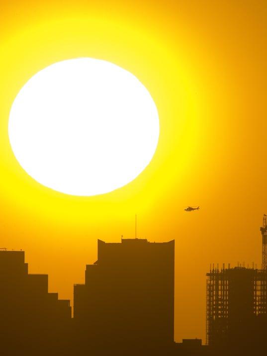 Wildart Weather Heat Sun
