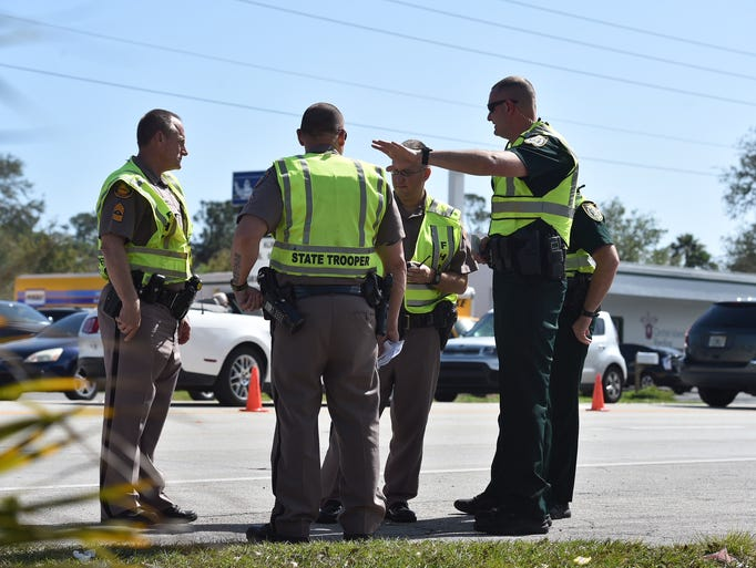 Indian River County Sheriff's Office deputies and Florida