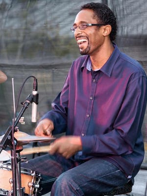 Donzell Davis, of Camarillo, is the drummer for Raw Silk, which will be performing at Bowlful of Blues on Saturday in Ojai's Libbey Bowl.