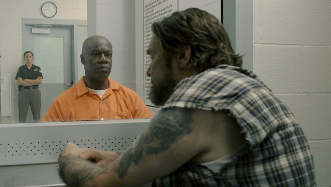 """Director Scott Magie made the fictional short """"Four Ninety,"""" in an abandoned part of the Jackson prison, featuring Lansing stage and film actor Rico Bruce Wade. It is part of the East Lansing Film Festival, showing at 8:30 p.m. Friday in Michigan State University's Wells Hall."""