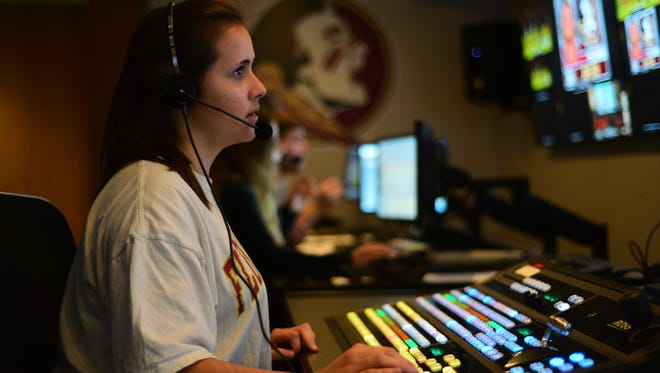 Seminole Productions frequently uses student interns from FSU's College of Communication & Information.