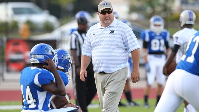 Tim Mathis is Cumberland's new football coach.