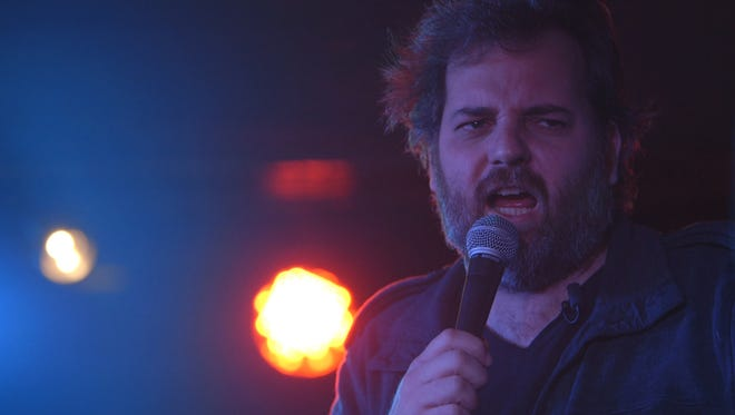 """Dan Harmon, creator of """"Community,"""" went on a nation standup tour after getting fired from his own show, and he let cameras follow him."""