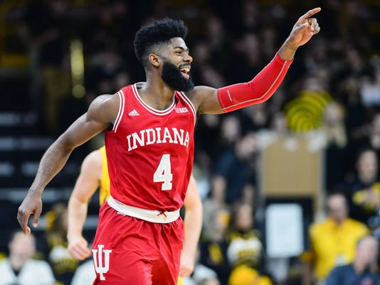 NCAA Basketball: Indiana at Iowa
